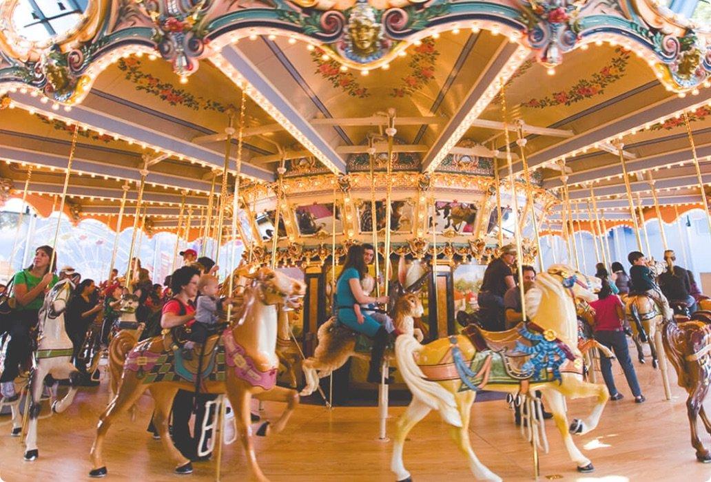 Woodside Park Dentzel Carousel